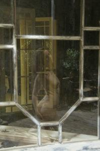 Reflets dans le verre